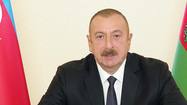 Azerbaycan Cumhurbaşkanı Aliyev'den Cumhurbaşkanı Erdoğan'a 'geçmiş olsun' telefonu