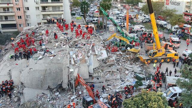 İzmir depreminde son bilanço açıklandı: Can kaybı 25 oldu