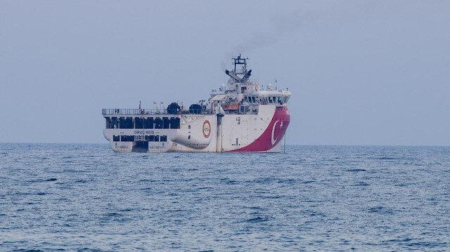 Oruç Reis için Doğu Akdeniz'de yeni Navtex: 14 Kasım'a uzatıldı