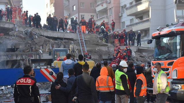 İzmir depreminde can kaybı 51'e yükseldi