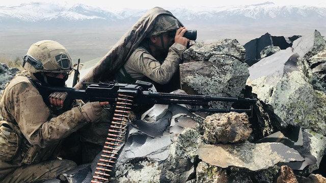 MSB: PKK/KCK terör örgütü mensuplarına yönelik operasyonlarda bir ayda 134 terörist etkisiz hale getirildi