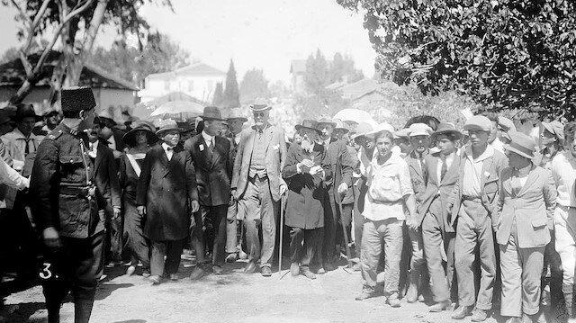 """103 yıl önce Yahudilere verilen Filistin'de """"vatan"""" sözü: Balfour Deklarasyonu"""
