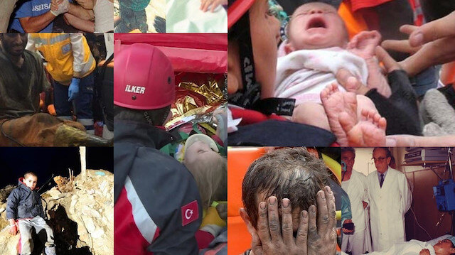 Enkaz altından 'bir ses, bir nefes': Türkiye ve dünyadaki felaketlerden 'mucize' kurtuluşlar