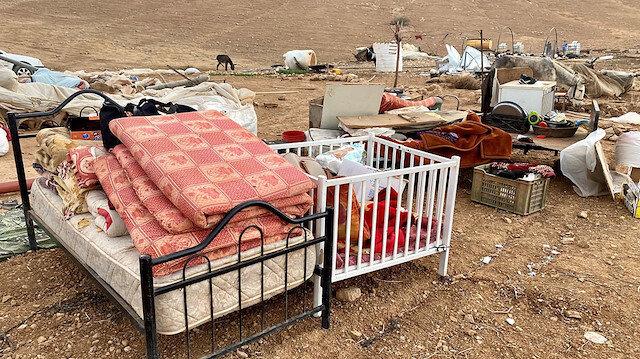 Batı Şeria'da yıllardır en büyük yıkım yaşanıyor
