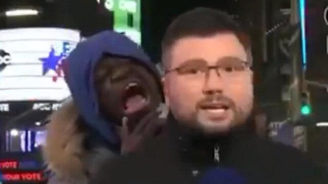 ABD seçimlerini takip eden Ukraynalı sunucu neye uğradığını şaşırdı!