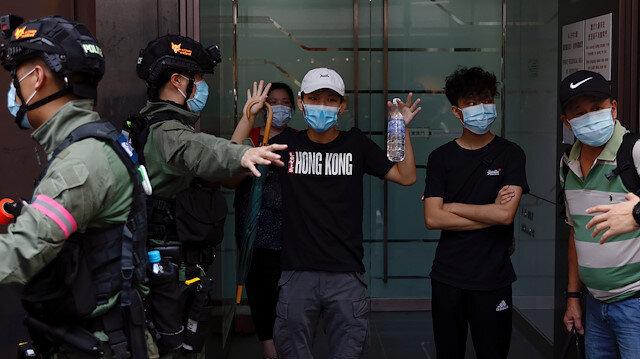 Hong Kong'da Ulusal Güvenlik Yasası kapsamında polis ihbar hattı açıldı