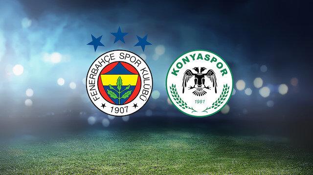 Fenerbahçe-Konyaspor (CANLI)