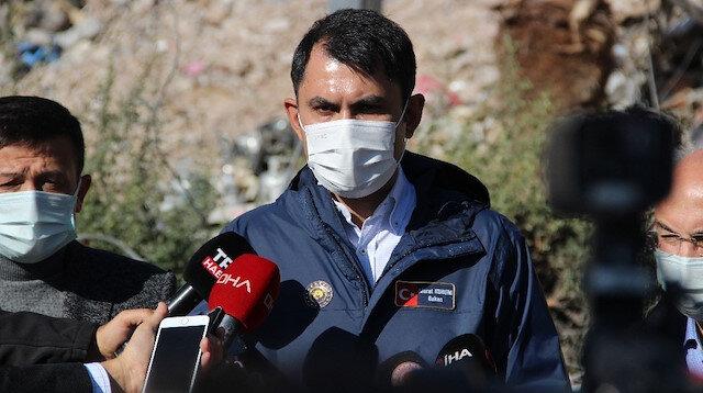 Bakan Kurum: Evi yıkılan her vatandaşa bir daire