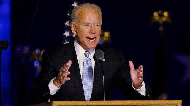 ABD başkanlığına seçilen Biden zafer konuşması yaptı: Bölen değil, birleştiren bir başkan olacağıma söz veriyorum