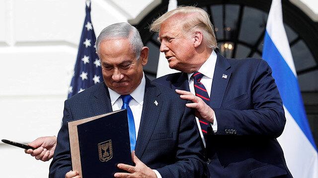 İsrail Başbakanı Netanyahu Biden'ı tebrik Trump'a teşekkür etti