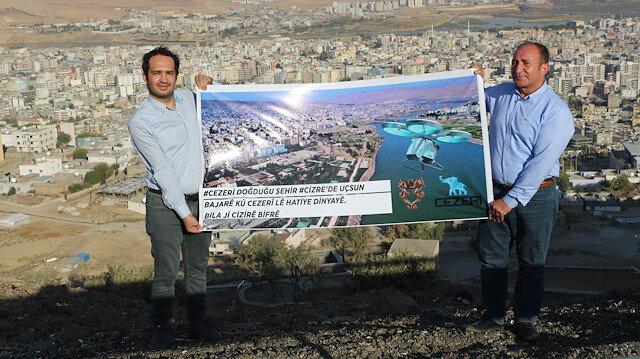 Uçan araba için çağrı yaptılar: Cezeri doğduğu şehir Cizre'de uçsun
