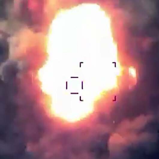 Azerbaycan ordusu, Ermenistana ait hava savunma sistemini havaya uçurdu