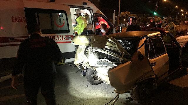 Çarptığı otomobildeki yaralıları ölüme terk edip kaçtı!