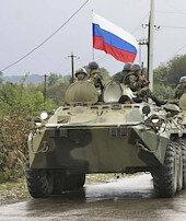 Rus barış gücü yola çıktı