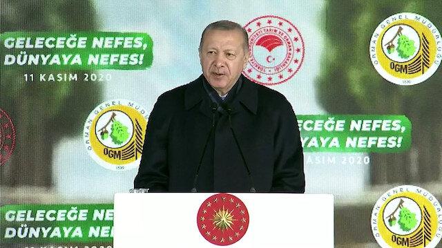 Cumhurbaşkanı Erdoğan Geleceğe Nefes Dünyaya Nefes Programında konuştu: Kalbi nefretle kuruyanlara inat...