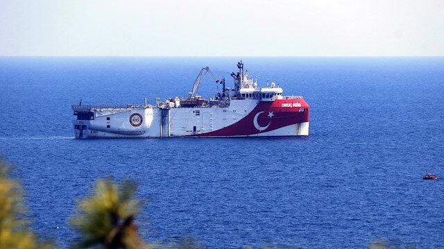 Türkiye'den yeni Navtex ilanı: Oruç Reis'in Doğu Akdeniz'de çalışma süresi uzatıldı