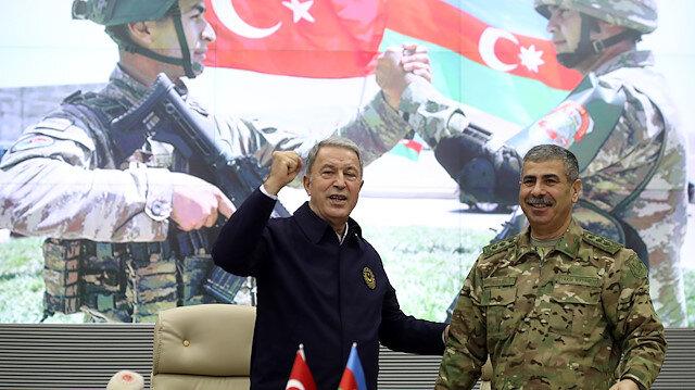 Hulusi Akar'dan Karabağ açıklaması: Harekât 44 günde bitti ama 44 sene boyunca konuşulacak