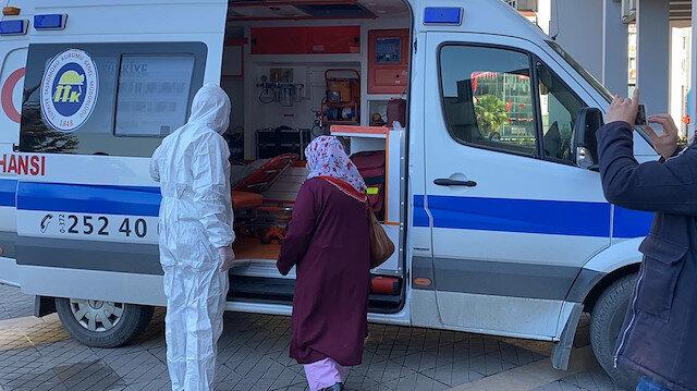 Zonguldak'ta bir kadın karantinayı ihlal edip valilik binasına girmeye çalışırken yakalandı