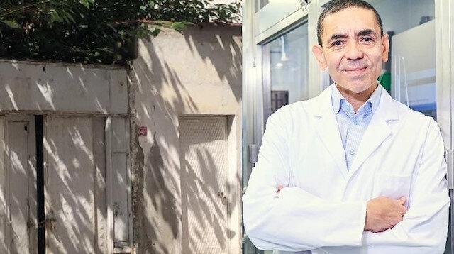 Koronavirüs aşısı tüm dünyada yankı uyandıran Prof. Dr. Şahin bu evde doğdu