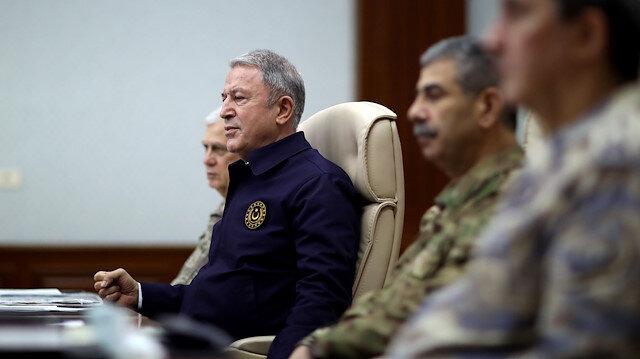 Milli Savunma Bakanı Akar: Harekat 44 günde bitti ama 44 sene boyunca konuşulacağından emin olun