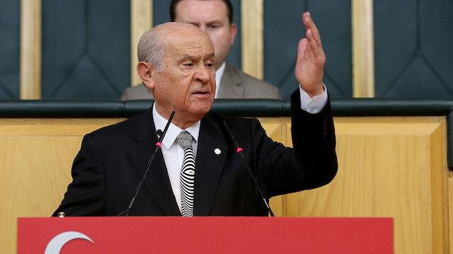 MHP lideri Bahçeli'den Biden'ı kutlayan Kılıçdaroğlu'na tepki: Ruhunu kiralamış olanlar ortaya çıkıyor