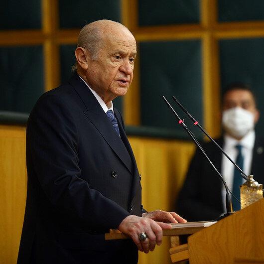 Devlet Bahçeliden Kılıçdaroğluna tebrik eleştirisi: Atatürk kalksa, okyanusun karşı kıyısına kadar vura vura kovalardı