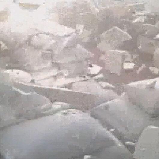 Sakaryada havai fişek fabrikasında meydana gelen patlamanın yeni görüntüleri ortaya çıktı