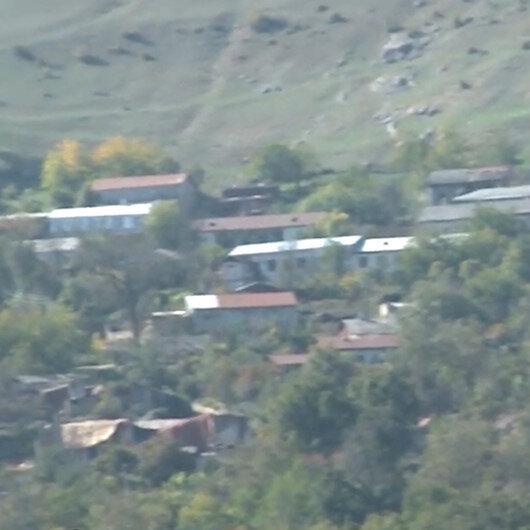 Ermenistan işgalinden kurtarılan Hocavendten ilk görüntüler
