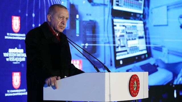 Cumhurbaşkanı Erdoğan: Gizli açık bütün ambargoları kendi gücüyle aşabilen bir ülke haline geldik