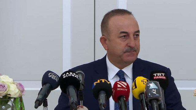 Bakan Mevlüt Çavuşoğlu Bakü'de açıklamalarda bulundu: Ermenistan ateşkesi bozarsa bedelini öder