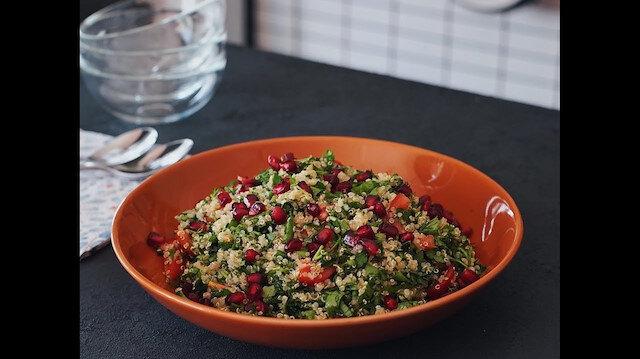 Lübnan'ın gözde salatası: Tabbule