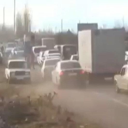 Azerbaycan ordusu tarafından hezimete uğratılan Ermenistan, işgal ettiği topraklardan çekiliyor: Kelbecer boşaltıldı