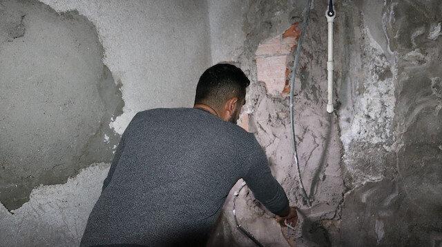 Diyarbakır duvarı delip iş yerine girdiler: 60 bin liralık elektronik cihazları çalıp kayıplara karıştılar