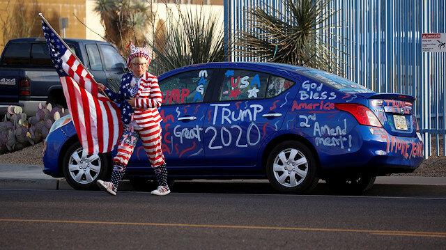 ABD'deki başkanlık yarışında Arizona eyaletini 11 bin oy farkla Biden kazandı