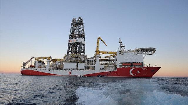Bakan Dönmez: Fatih, Tuna-1'den sonra Sakarya Gaz Sahası'ndaki Türkali-1'de yeni sondajına başladı