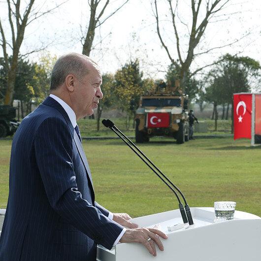 Cumhurbaşkanı Erdoğan: Her kim vatan toprağına göz dikerse, kendisini komandolarımızın elinde acı bir akıbet bekliyordur