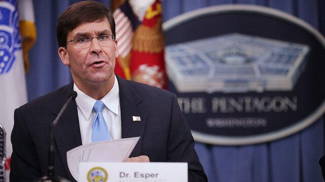 ABD Savunma Bakanı Esper, kovulmadan önce gizli bir not bırakmış
