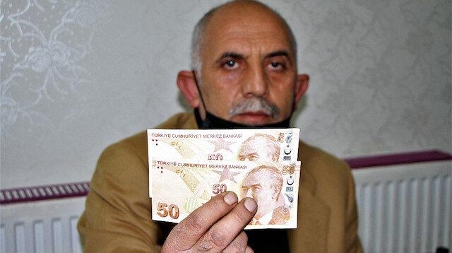 Görünce gözlerine inanmadı: Hatalı basım 50 TL için 50 bin lira istiyor