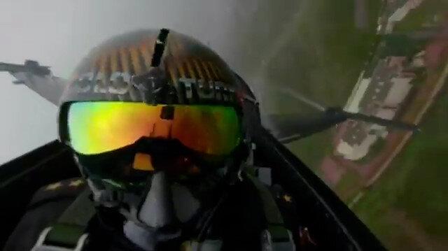 MSBden, Formula 1 Türkiye Grand Prixinde uçuş yapan Solo Türk kabininden paylaşım