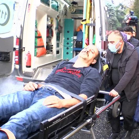 Vaniköy Camii imamı, çocuklarının yanan camide olduğunu sanarak fenalaştı