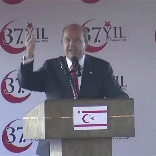 KKTC Cumhurbaşkanı Ersin Tatar, Ne beşinci kol faaliyetleri ne de dış mihrakların oyunları asla tutmayacak