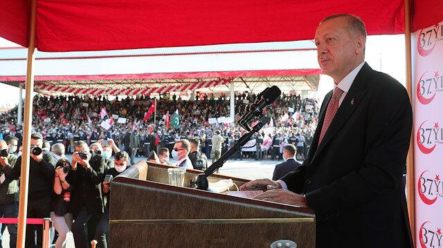 Cumhurbaşkanı Erdoğan: Kıbrıs Türk halkının haklarının gasbedilmesine artık tahammülümüz yok