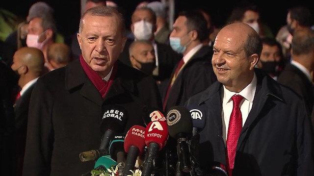 Cumhurbaşkanı Erdoğan: Maraş asıl sahiplerine kavuşmuştur