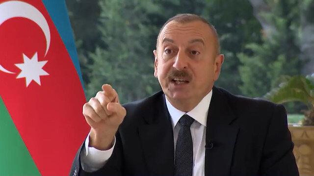 Aliyev, kendisine basın özgürlüğü suçlaması yapan BBC muhabirine batının iki yüzlülüğünü tane tane anlattı