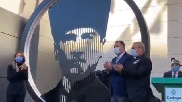 CHP'li Çankaya Belediyesi'nden Ankara'ya yeni Atatürk heykeli