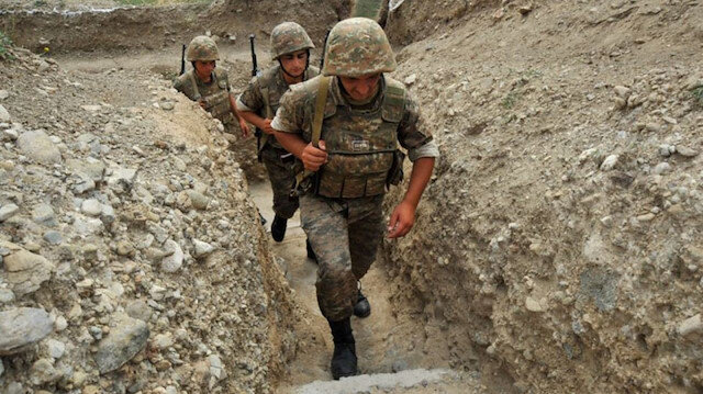 Ermenistan ordusundan alçak tuzak: Geri çekildiği bölgelere bırakıyor