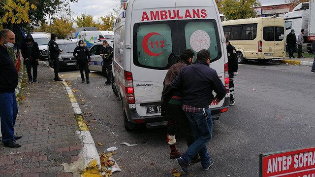 Bağcılar'da minibüs şoförlerinin 'üç dakika erken geldin' kavgası kanlı bitti