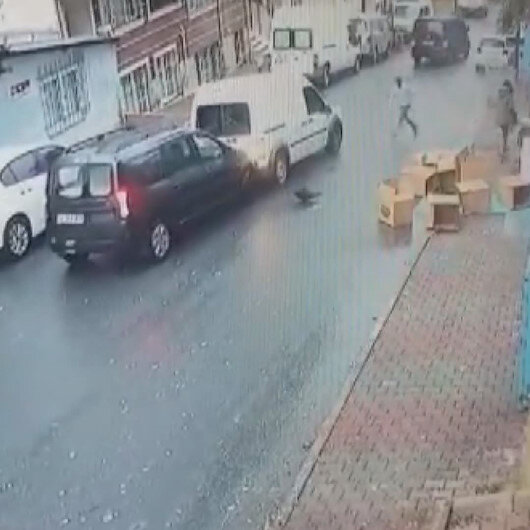 Gaziosmanpaşada hırsızlara müdahale etmek istediler: Cadde savaş alanına döndü