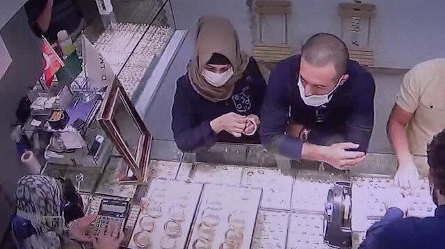Adıyaman'da kuyumcudan 40 bin TL'lik hırsızlık kamerada