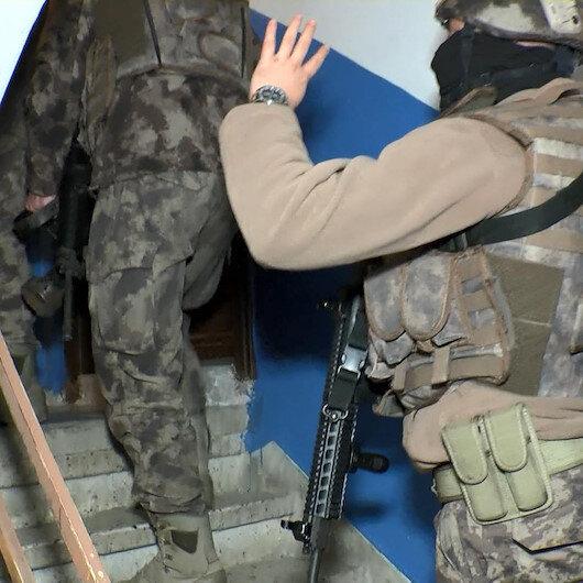 Silivride torbacılara şafak operasyonu: 46 adrese eş zamanlı baskın düzenlendi